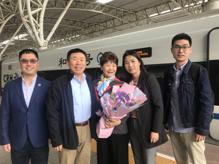 Executives of USCEC Visited Nanjing City in 2019 美中交流协会领导2019年访问南京