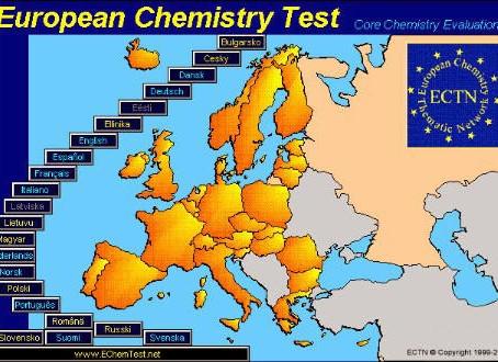 Международное онлайн тестирование EChemTest