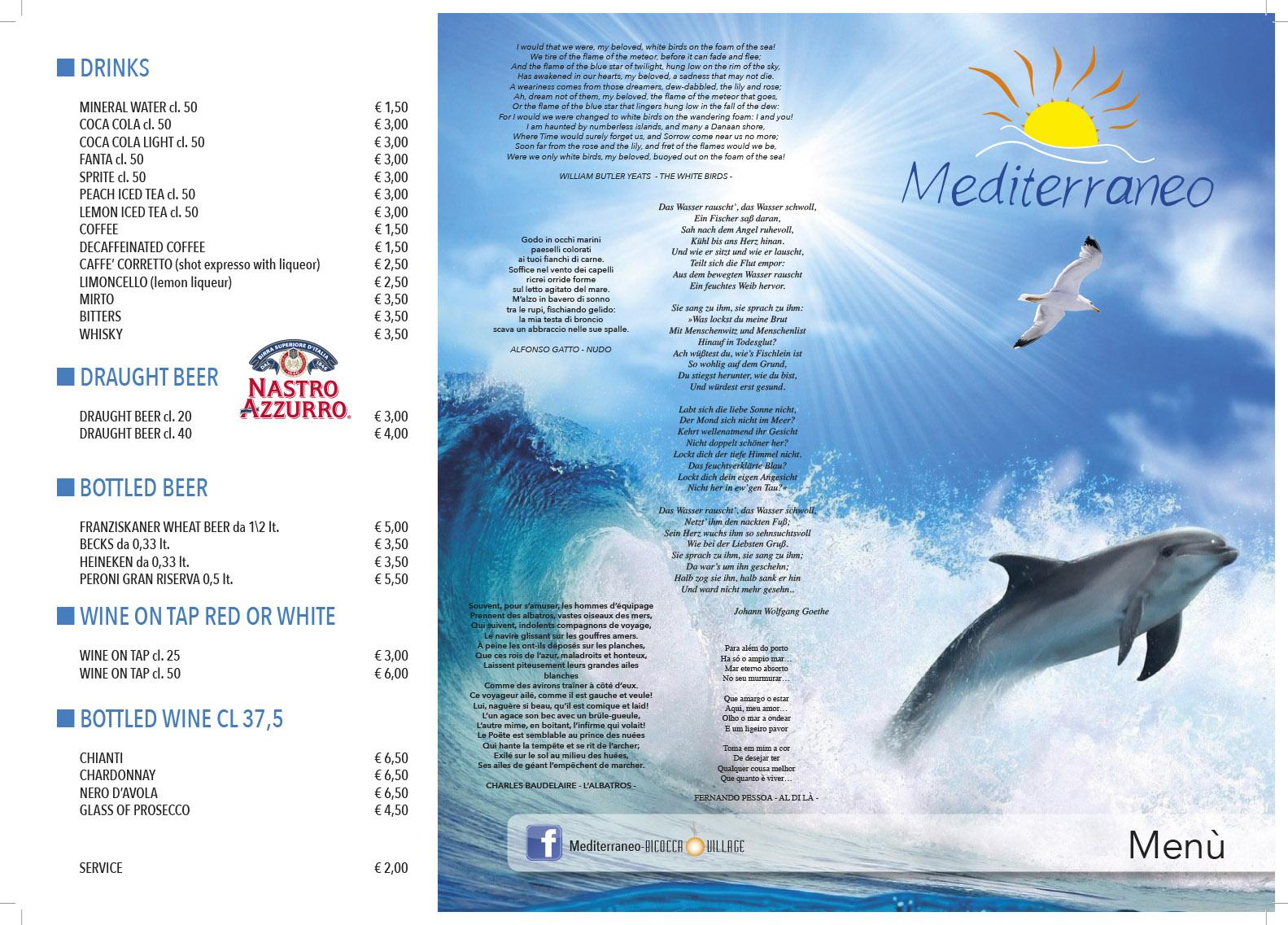 menu mediterraneo 2016 inglese