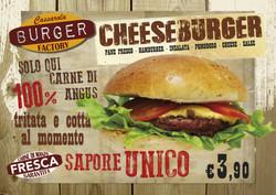 tovaglia A3 cheeseburger