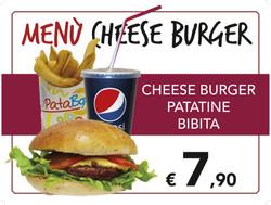 tovaglietta menu hamburger