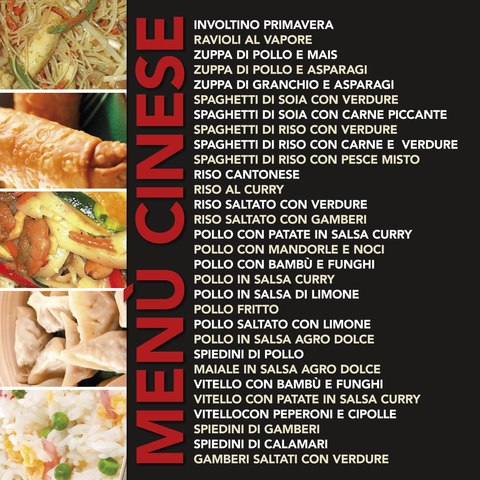 pannelli menu cineseokok