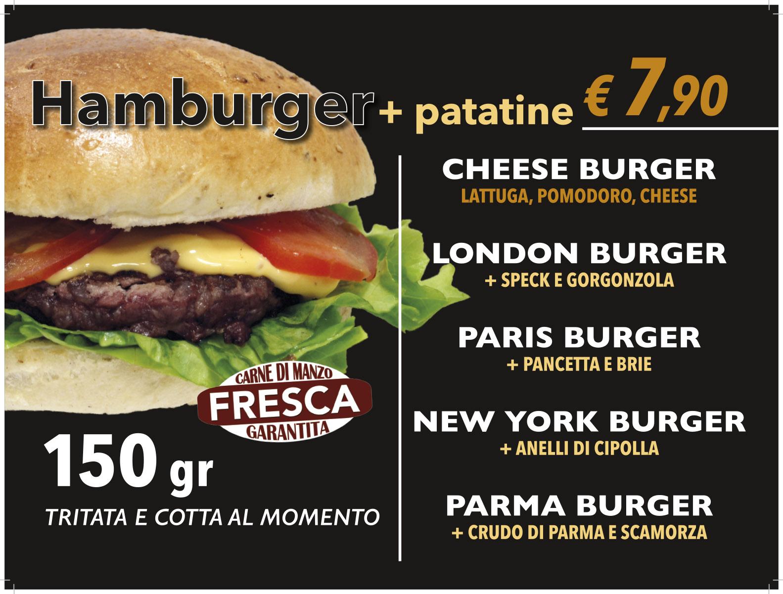 tovaglietta menu hamburger 2