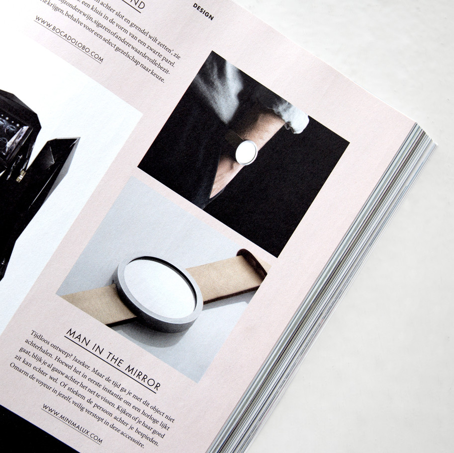 Image for Minimalux featured in L'Official Netherlands