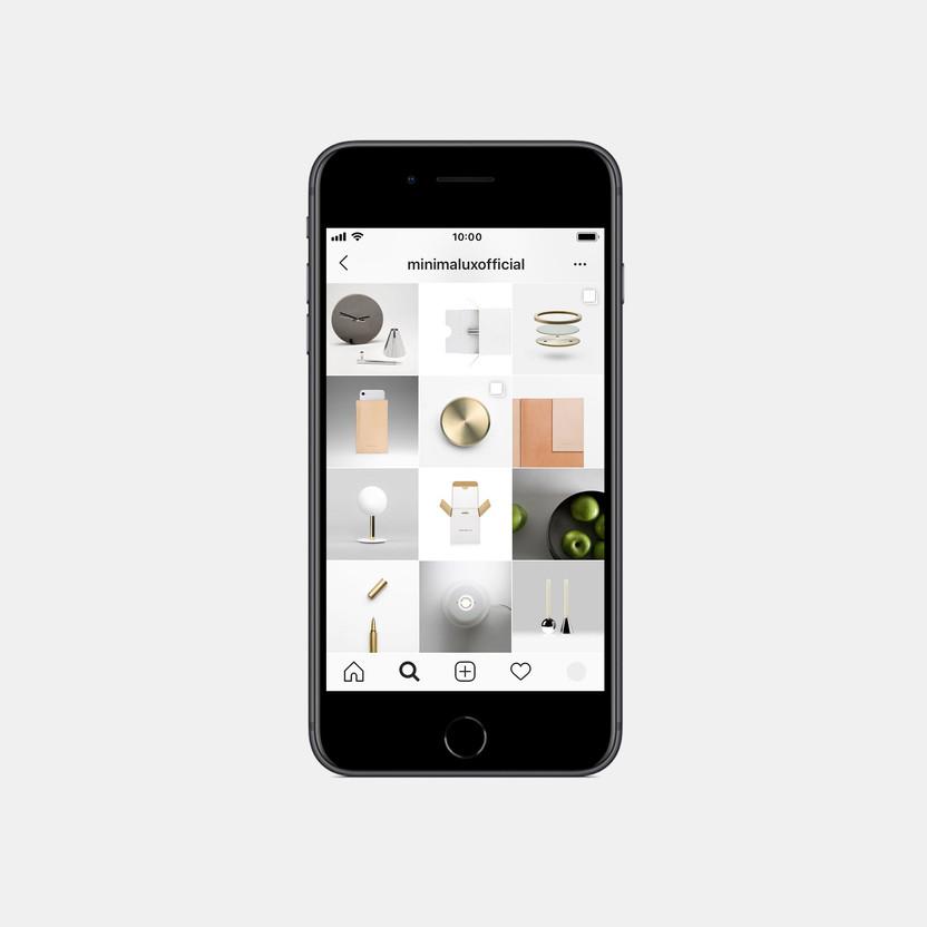 Instagram feed for Minimalux