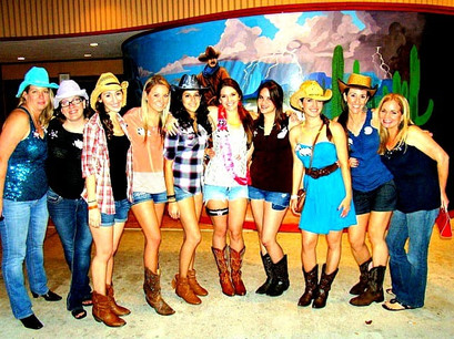 Bachelorette Party Country Style