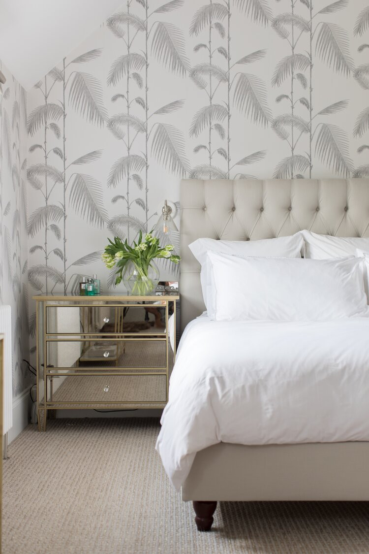 Dorset Carriage House - bedroom - designed by Laura Butler-Madden