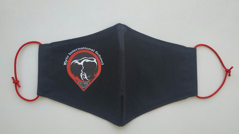 Kid black  mask with kozak emblem