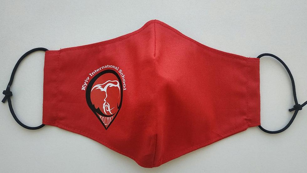 Red mask with kozak emblem