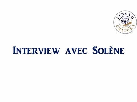 Interview avec Solène