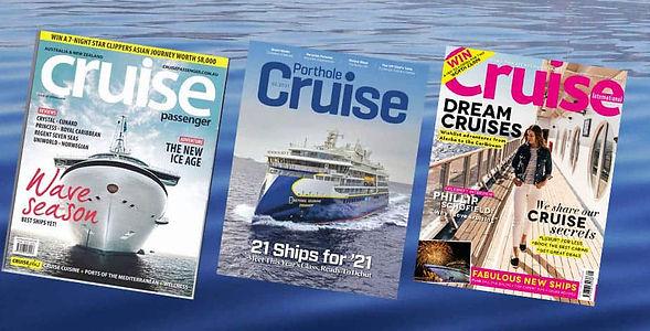 Cruise Companions Club magazine promo mo