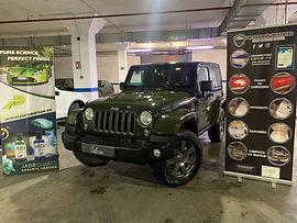 Pulido Profesional en Jeep edición especial