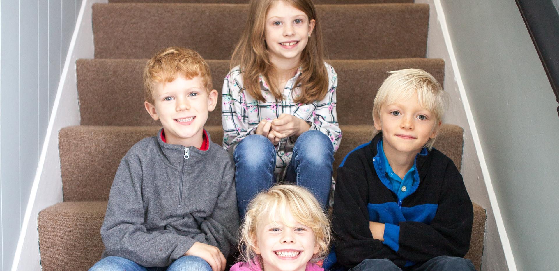 Machias Valley Christian School students