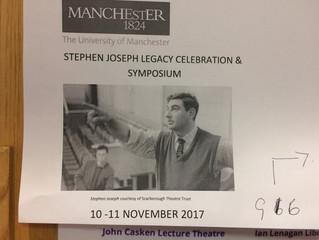Stephen Joseph Legacy Celebration & Symposium at Manchester University