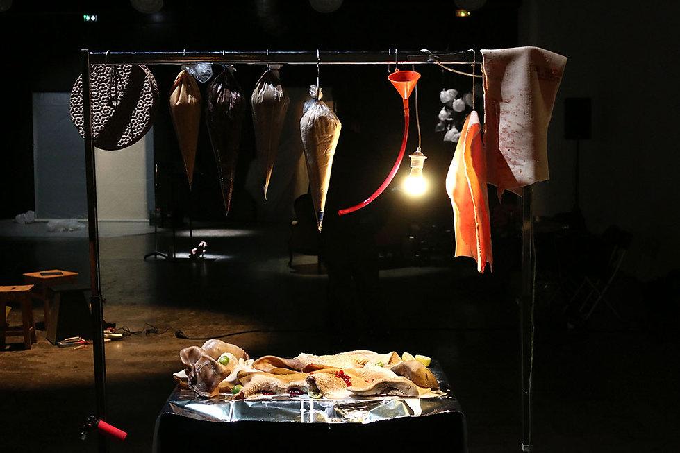food design installation design culinaire
