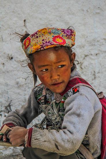 Tibetan Girl, Lhasa