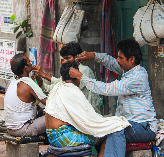 Barber Shop, Calcutta