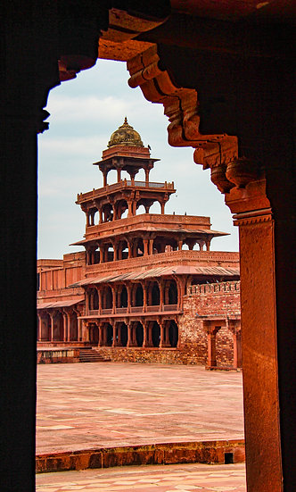 Fatehpur Sikri Perspective