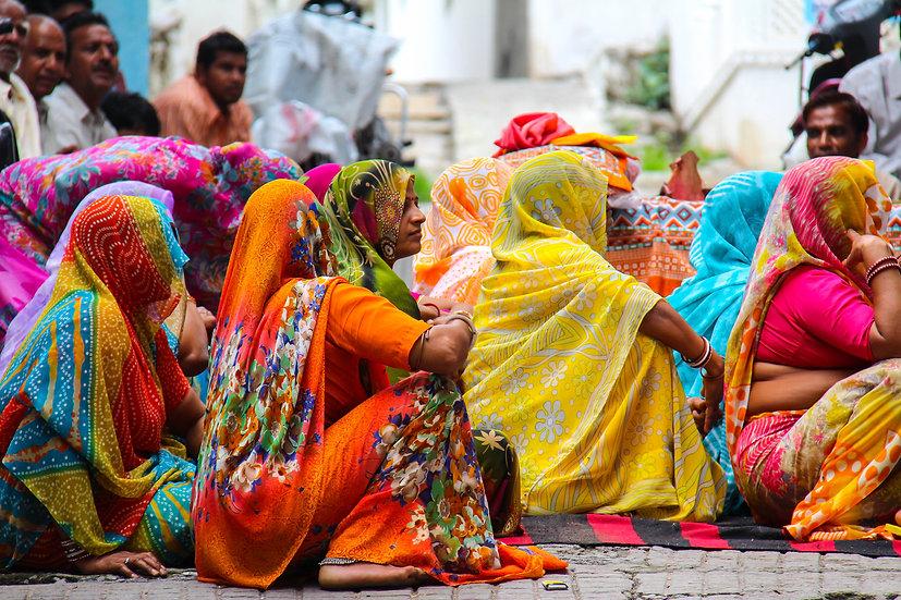 Women at a Wedding, Jodhpur