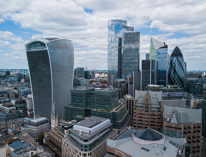 The City of London Skyscrapers