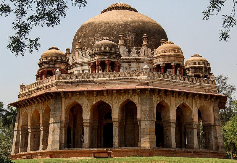 Tomb of Muhammad Shah in Lodhi Gardens, New Delhi