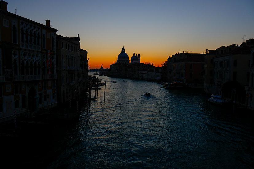 Grand Canal at Sunrise, Venice