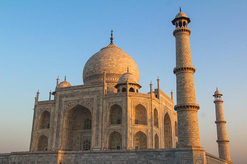 Golden Hour on the Taj Mahal, Agra