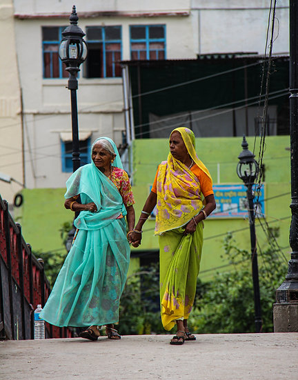Friends Holding Hands, Udaipur