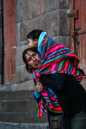 Mother and Child, Cusco