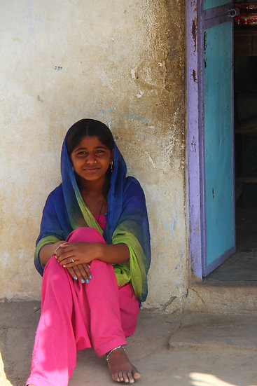 Young Girl, Jawai Bandh