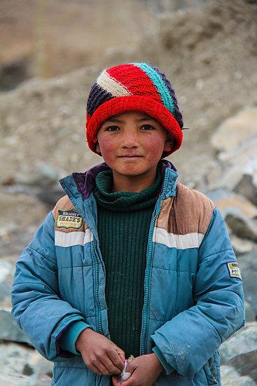 Young Boy, Ladakh