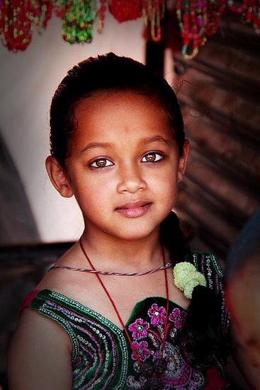 Nepalese Girl, Kathmandu