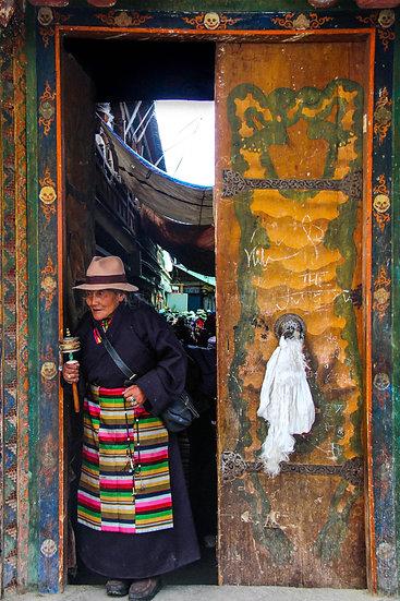 Tibetan Woman, Lhasa