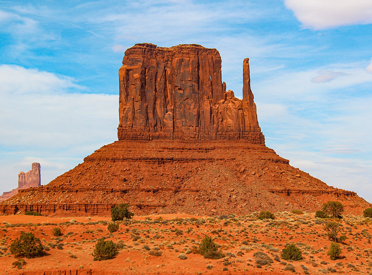 West Mitten Butte, Monument Valley