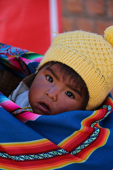 Young Child on the Go, Cusco
