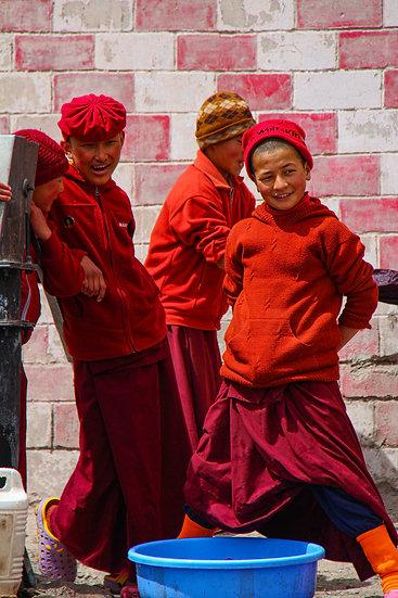 Friends at Hemis Monastery, Ladakh