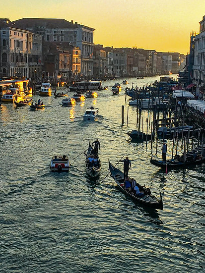 Rialto at Sunset, Venice