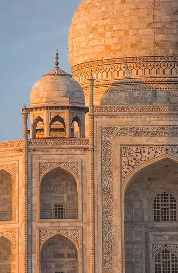 Taj Mahal Architecture Detail, Agra