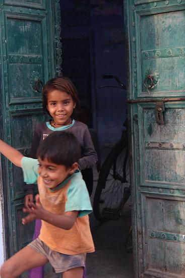 Children Playing, Ajabgarh