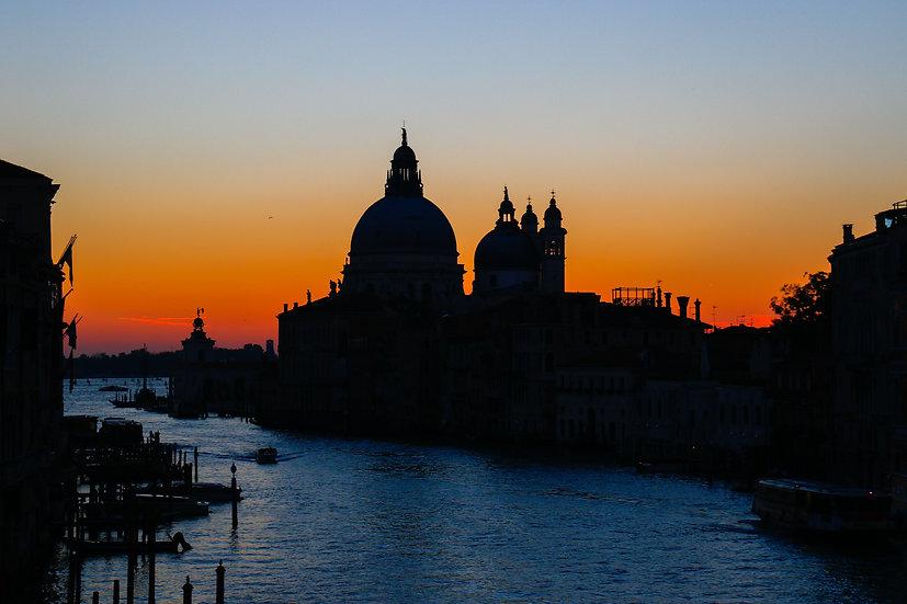Santa Maria della Salute at Dawn, Venice
