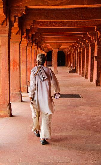 Pilgrim at Fatehpur Sikri