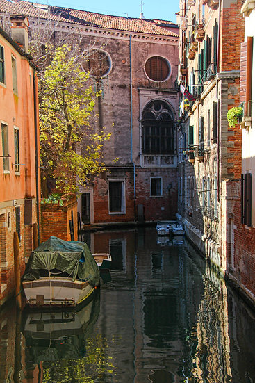 Canal View, Venice