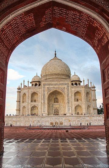 Taj Mahal after the Rain, Agra