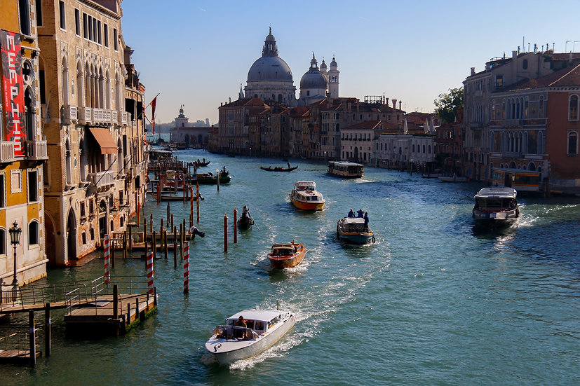 View from Ponte dell' Accademia