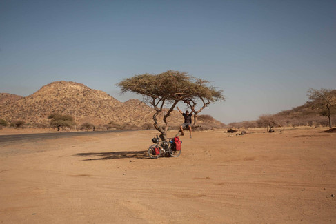 Hanging out in Sudan