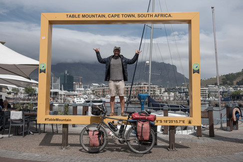 London to Cape Town by bike