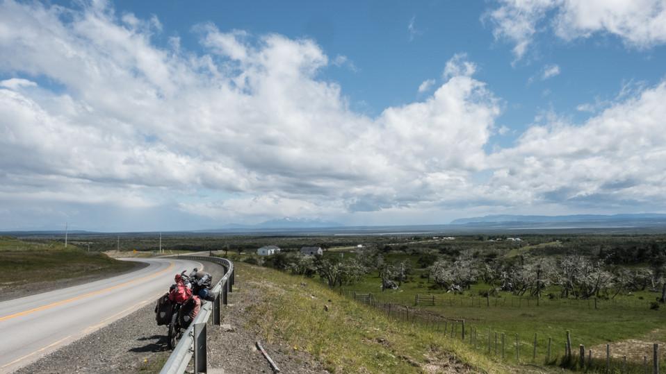 Border to Torres del Paine