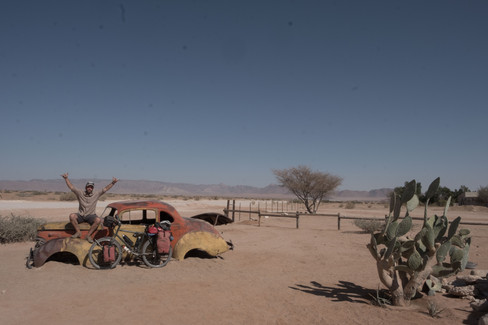 Outpost in the desert, Namibia