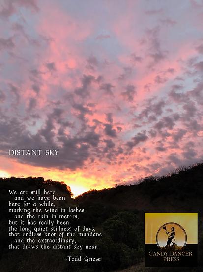 Distant Sky (framed)