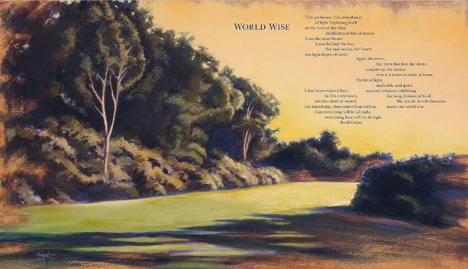 """World Wise"" Print"